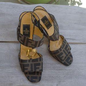 Authentic Fendi heels